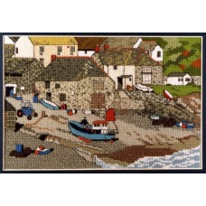 Cadgwith Cove Counted Cross Stitch Kit