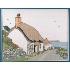 Cottages at Church Cove Counted Cross Stitch Kit