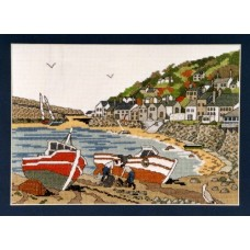 Mousehole Counted Cross Stitch Kit