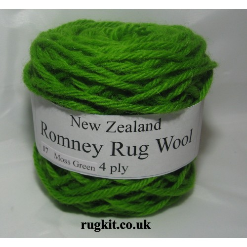 Romney rug wool 100g ball 17