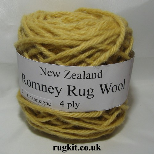 Romney rug wool 100g ball 2