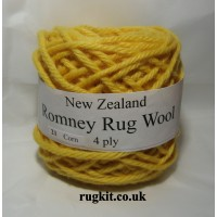 Romney rug wool 100g ball 21