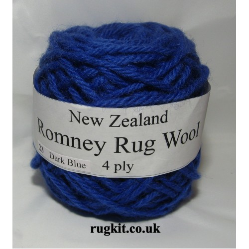 Romney rug wool 100g ball 23
