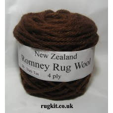Romney rug wool 100g ball 26