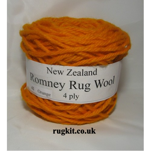 Romney rug wool 100g ball 42