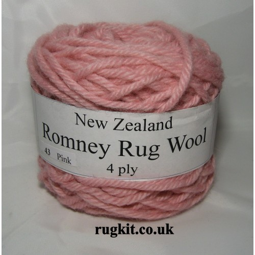 Romney rug wool 100g ball 43