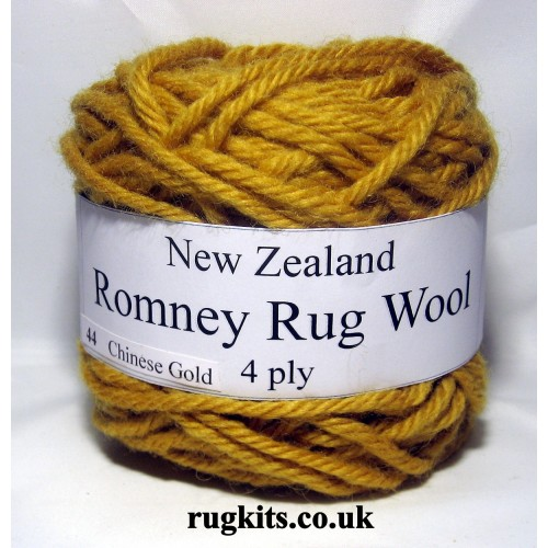 Romney rug wool 100g ball 44