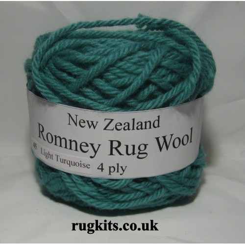 Romney rug wool 100g ball 45