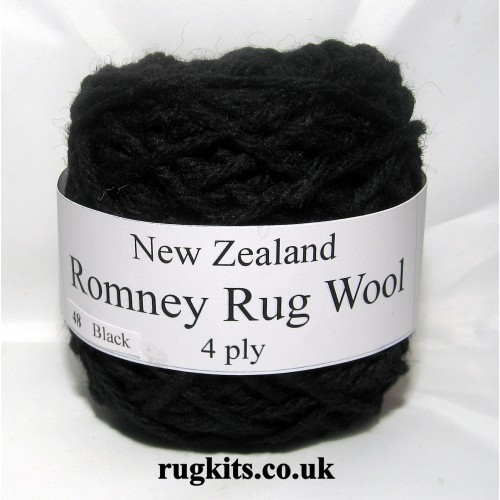 Romney rug wool 100g ball 48