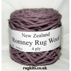 Romney rug wool 100g ball 50