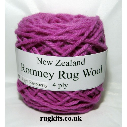 Romney rug wool 100g ball 52