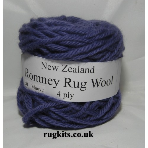 Romney rug wool 100g ball 54