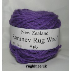 Romney rug wool 100g ball 61