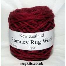 Romney rug wool 100g ball 65