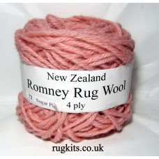 Romney rug wool 100g ball 72