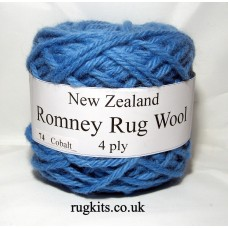 Romney rug wool 100g ball 74