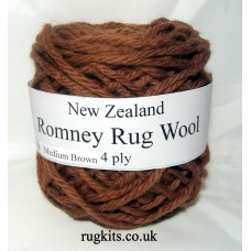 Romney rug wool 100g ball 76