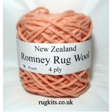 Romney rug wool 100g ball 78