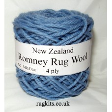 Romney rug wool 100g ball 82