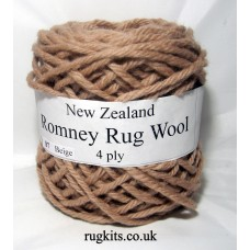 Romney rug wool 100g ball 87