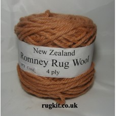 Romney rug wool 100g ball 873