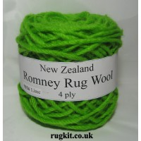 Romney rug wool 100g ball 9154
