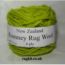 Romney rug wool 100g ball 9274