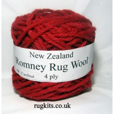 Romney rug wool 100g ball 94
