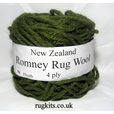 Romney rug wool 100g ball 96