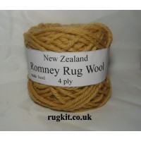Romney rug wool 100g ball 9446