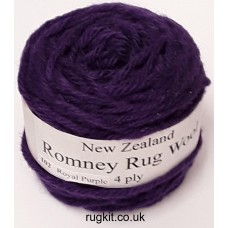 Romney rug wool 100g ball 102