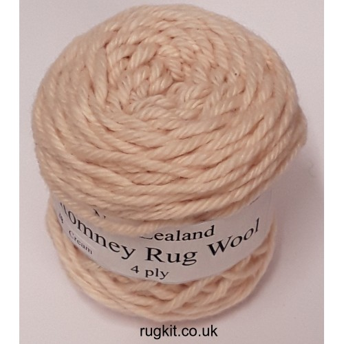 Romney rug wool 100g ball 38