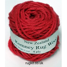 Romney rug wool 100g ball 8214