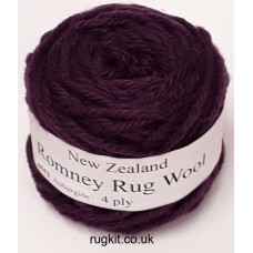 Romney rug wool 100g ball 8552