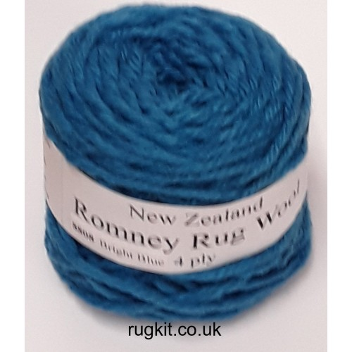 Romney rug wool 100g ball 8808