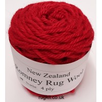 Romney rug wool 100g ball 98
