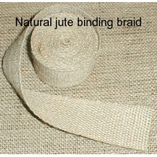 Jute binding braid roll