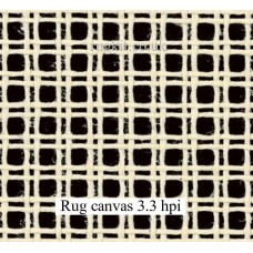 "Zweigart rug canvas in single pieces (3.3 hpi) 80""x60"""