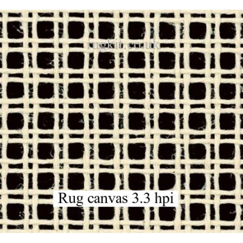"Zweigart rug canvas in single pieces (3.3hpi) 24""x24"""
