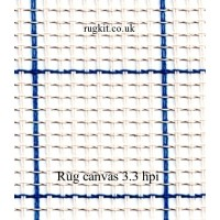"Zweigart rug canvas in single pieces (3.3 hpi) 40""x55"""