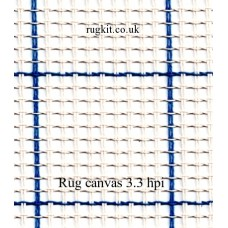 "Zweigart rug canvas in single pieces (3.3 hpi) 40""x60"""