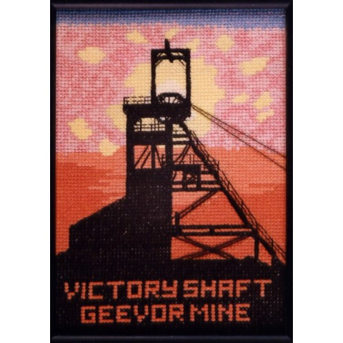 Victory Shaft Counted Cross Stitch Kit