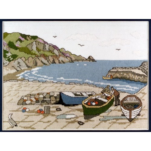 Lamorna  Counted Cross Stitch Kit