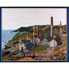 Levant Mine Counted Cross Stitch Kit