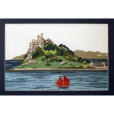St Michael's Mount Counted Cross Stitch Kit