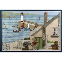 Old Newlyn Counted Cross Stitch Kit