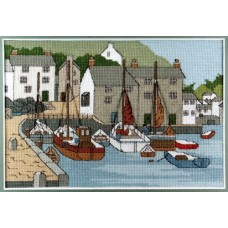 Polperro Counted Cross Stitch Kit