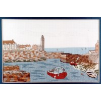 Porthleven Counted Cross Stitch Kit