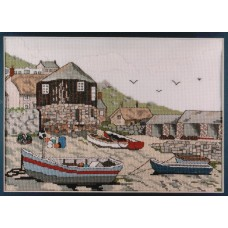 Sennen Cove Counted Cross Stitch Kit