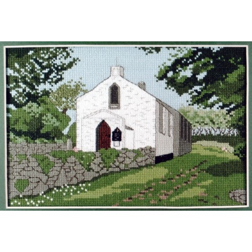 Tredavoe Chapel Counted Cross Stitch Kit